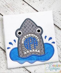 shark-monogram-applique-design