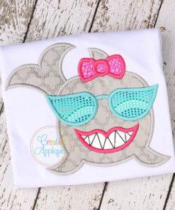 shark-girl-sunglasses-embroidery-applique-design