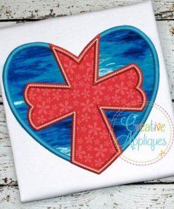 Heart-Cross-embroidery-applique-design