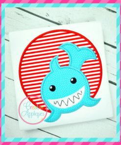 shark-circle-embroidery-applique-design-creative-appliques