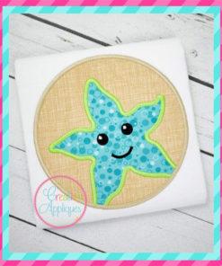 starfish-circle-embroidery-applique-design-creative-appliques