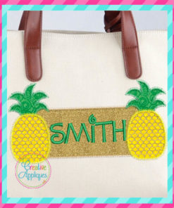 pineapple-frame-embroidery-applique-design-creative-appliques